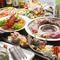 さまざまな宴会にぴったりのボリューム満点コース料理