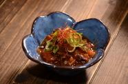 味付けに「とくぢ味噌」を使った土手焼き『長州焼き』