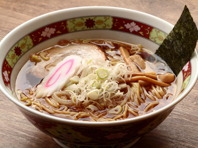 自家製醤油ダレの味わい深いスープ『東京下町ラーメン』