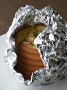 ふわふわの生の食感が際立つ『ガーリックトースト』