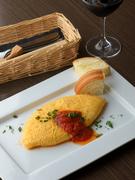 ふわとろの卵&チーズを丸ごと味わえる『オムレツ』