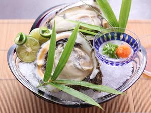 能登の牡蠣(二人前) ※料理は一例。季節ごとに変更。要予約。