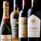 ワイン好きも満足する充実のラインナップ
