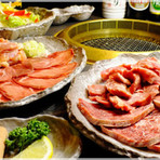 新鮮で美味しいお肉を食べ放題のコースでみんなで楽しく!!