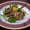 ニュージーランド産ラム肉の香草ソテー アグロドルチェソースで