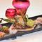 季節の食材と鰻白焼、かば焼きが入った「和食屋」の鰻コースです。