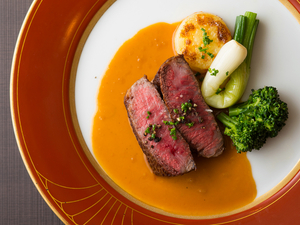魚もお肉も選べる、欲張りな『ディナーコース MenuB』