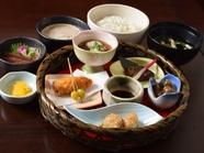 中津川豆腐とさわらの西京焼き御膳
