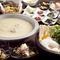 ボリューム満点。様々な鶏料理が揃う『華味鳥使用 中洲コース』
