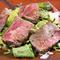 地元名産「松阪牛」。部位に適した調理法にこだわっています
