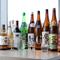 オススメの地酒、焼酎、ウイスキー、ワインなど豊富な品ぞろえ