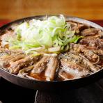 『どぜう鍋』 ※画像は『ほねぬき鍋』:1650円