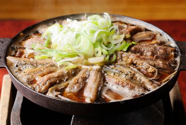 『どぜう鍋』 ※画像は『ほねぬき鍋』:1950円