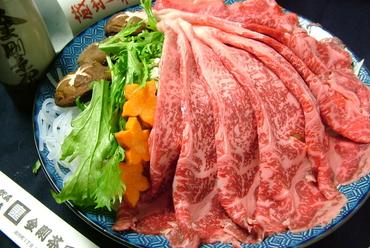 『牛しゃぶ』or『牛すき焼』食べ放題コース