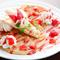ふわふわの甘いパンケーキ『ストロベリー&バナナ』