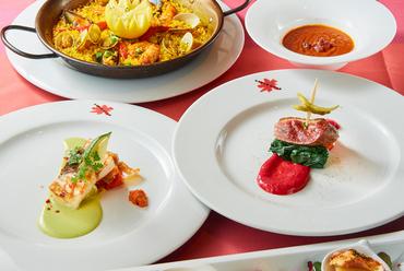 ディナー◆メインの魚&お肉料理を贅沢に デザート付き全9品8000円