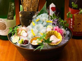 ご自宅で味わう「活き造り・寿司」