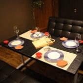 テーブル個室も御座います。デートにもオススメ