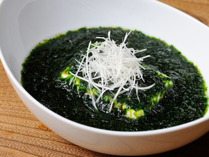 磯の香りがたまらない『青海苔豆腐』