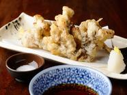 秋の香りをたっぷりまとった『舞茸の天ぷら』
