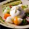 産地から直送された野菜がたっぷり味わえるヘルシーイタリアン