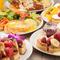 スイーツ系にお食事系と様々なフレンチトーストを堪能できます