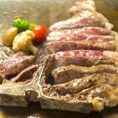 北海道道産牛Tボーンステーキ (量り売り)
