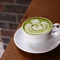緑と白の鮮やかな色合い。味はもちろん見た目でも楽しめます