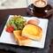 出勤前の朝食におすすめ、お得なモーニング『Aset』