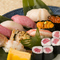 地元三陸の海の幸を中心に四季折々の旬の魚をにぎり寿司で