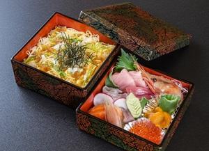 ランチタイム限定『与五郎弁当(ミニちらし丼付)』 ※数量限定