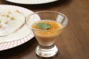 クリームチーズと蘭王卵の濃厚チーズプリンが口の中でとろける触感を是非一度ご賞味ください。
