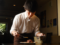 丁寧な仕事を心掛け美味しい料理と心地良い空間の為に日々精進