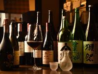 こだわりのオーガニックワインやプレミアム日本酒
