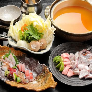 魚すき鍋コース