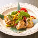 「中華」や「エスニック」のピリ辛系炒めもの料理