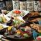 リーズナブルな価格も魅力、多彩な魚料理を満喫できるコース料理