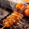 ぷりっとした食感が魅力の「水郷赤鶏」のやきとり
