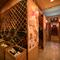 厳選のワインが、繊細な料理の味の輪郭をさらに際立たせる