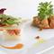 彩りがきれい! それぞれの食感や風味の違いを楽しめる前菜