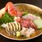 佐渡から毎週直送される新鮮な魚介類を堪能!