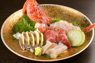 佐渡直送の鮮魚『刺身盛り合わせ』