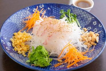 中国式刺身サラダ