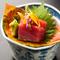 厳選した旬の鮮魚は『お刺身』でお召し上がりください