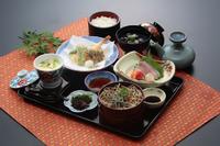 島根県の観光課の企画に登録されたランチ。地元の食材をたっぷりと使用した、品数豊富なランチです。