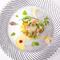 """皿の上に""""旬""""が彩る『自家菜園の野菜を使ったサラダ』"""