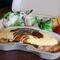 ゜゚・*:.。. 焼きリンゴとベリーソースの パンケーキ.。.:*・゜゚
