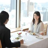 ホテルグランヴィア岡山内19Fにある眺望のよいレストラン