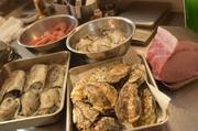 新鮮な魚の旨みが存分に堪能できる一皿。グリル、香草焼き、アクアパッツァから調理方法が選べます。