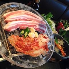 国産厚切豚サムギョプサルセット